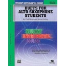 Student Instrumental Course Duets For Alto Saxophone Students - Level I