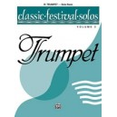 Classic Festival Solos (b-flat Trumpet) - Solo Book