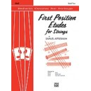 Applebaum, Samuel - First Position Etudes For Strings, Level 2 - Cello