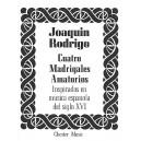 Rodrigo, Joaquin - Cuatro Madrigales Amatorios Medium Voice And Piano