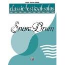 Various - Classic Festival Solos (snare Drum) (unaccompanied) - Solo Book (Unaccompanied)