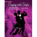 Martin, Joanne - Playing With Style For String Quartet Or String Orchestra - Viola Duet