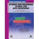 Student Instrumental Course Studies And Melodious Etudes For Alto Saxophone - Level III