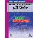 Student Instrumental Course Studies And Melodious Etudes For Bass Clarinet - Level III