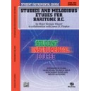 Student Instrumental Course Studies And Melodious Etudes For Baritone (b.c.) - Level II