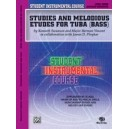 Student Instrumental Course Studies And Melodious Etudes For Tuba - Level III