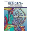 Trios For All - B-Flat Clarinet, Bass Clarinet