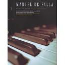 Manuel De Falla: Music For Piano Volume 1