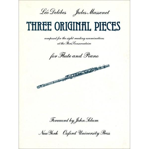 Three Original Pieces - Delibes, Leo