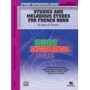 Student Instrumental Course Studies And Melodious Etudes For French Horn - Level III
