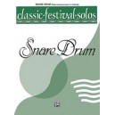 Various - Classic Festival Solos (snare Drum) - Piano Acc.