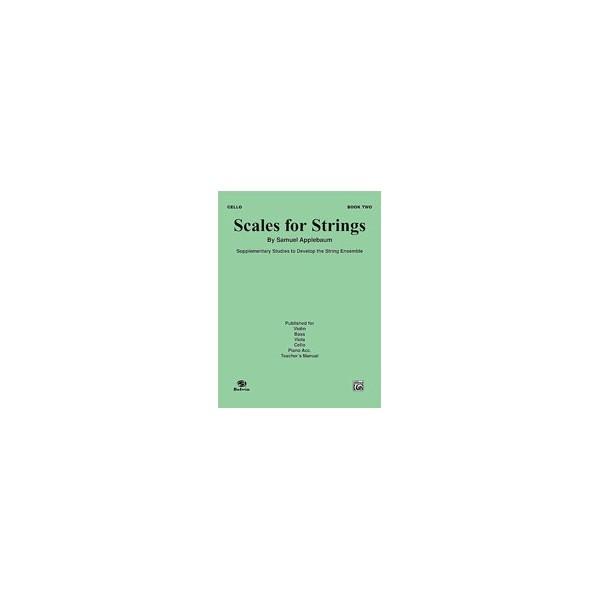 Applebaum, Samuel - Scales For Strings - Cello