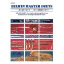 Snell, Keith (arranger) - Belwin Master Duets (clarinet) - Intermediate