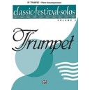 Classic Festival Solos (b-flat Trumpet) - Piano Acc.