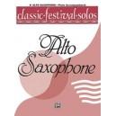 Classic Festival Solos (e-flat Alto Saxophone) - Piano Acc.