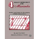 Van geem, J, arr. Cirone, A.J - 4 Mallet Democracy For Marimba - Studies and Etudes for Developing 4-Mallet Independence