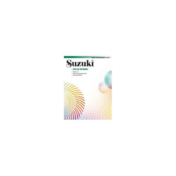 Suzuki - Suzuki Cello School - Piano Acc.