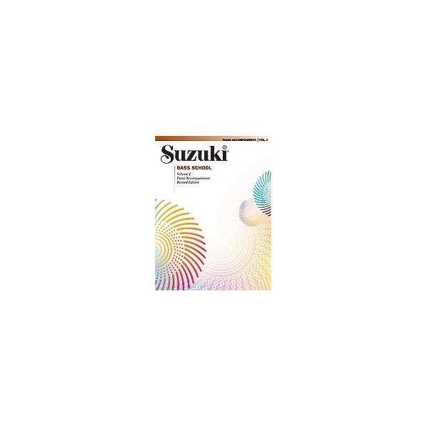 Suzuki - Suzuki Bass School - Piano Acc.