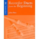 Recorder Duets From The Beginning: Teachers Book 2 - Pitts, John (Artist)