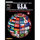 Starr, W - Strings Around The World -- Folk Songs Of The U.s.a. - Score
