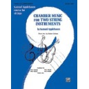 Applebaum, Samuel - Chamber Music For Two String Instruments - Piano Acc.