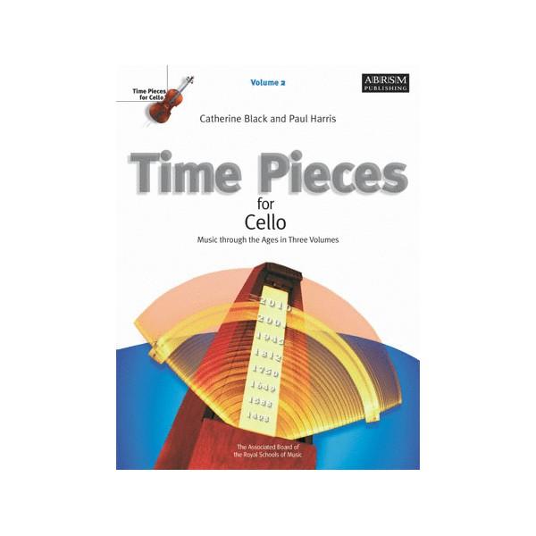 Time Pieces for Cello  Volume 2