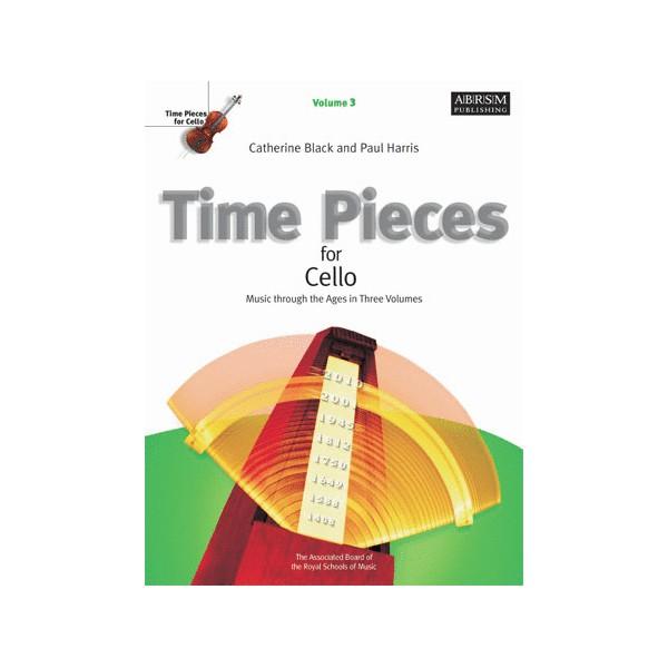 Time Pieces for Cello  Volume 3