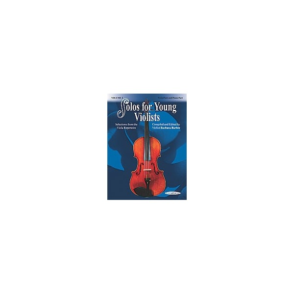 Barber, Barbara - Solos For Young Violists - Selections from the Viola Repertoire