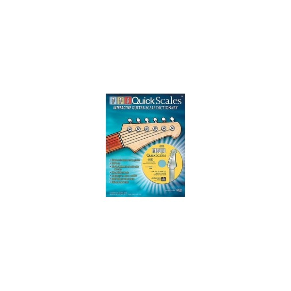 Various - Quick Scales Interactive Guitar Scale Dictionary - FREE Scale Book Included