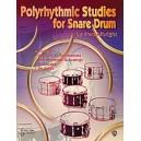 Albright, Fred - Polyrhythmic Studies For Snare Drum