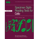 Specimen Sight-Reading Tests for Cello  Grades 6-8