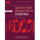 Specimen Sight-Reading Tests for Double Bass Grades 6-8