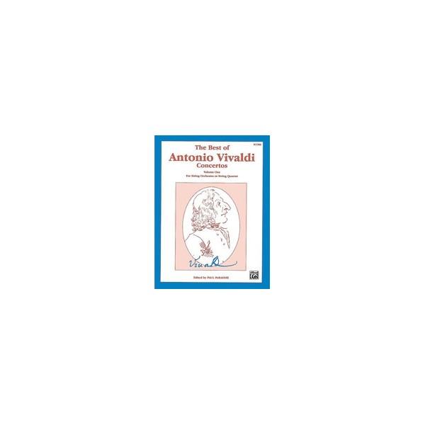 The Best Of Antonio Vivaldi Concertos (for String Orchestra Or String Quartet) - Score