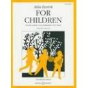 Bartok, Bela - For Children Volume 1