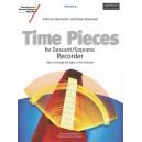 Time Pieces for Descant/Soprano Recorder  Volume 2