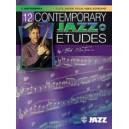 Mintzer, Bob - 12 Contemporary Jazz Etudes - C Instruments (Flute, Guitar, Vibes, Violin)