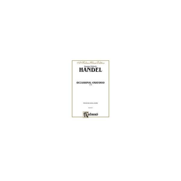 The Occasional Oratorio - SATB or SSAATTBB with SSTB Soli (Miniature Score) (German, English Language Edition)