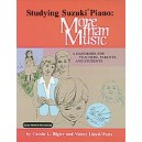 Studying Suzuki Piano -- More Than Music - A Handbook for Teachers, Parents, and Students