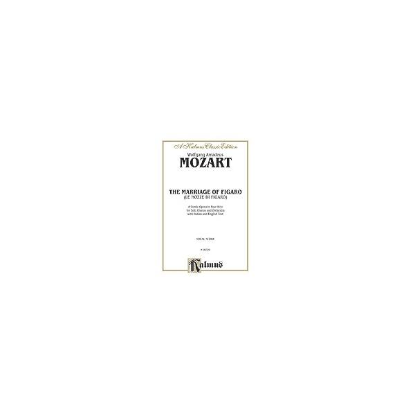 The Marriage Of Figaro - Vocal Score (Italian, English Language Edition)