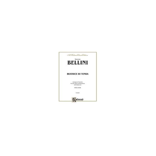 Beatrice Di Tenda - Vocal Score (Italian Language Edition)