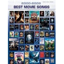 Various - 2000-2005 Best Movie Songs - Piano/Vocal/Chords