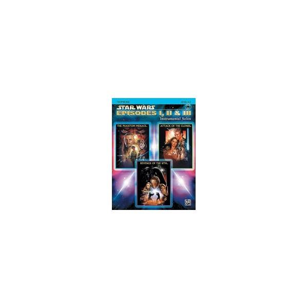 Alto Sax II /& III Instrumental Solos Star Wars® Episodes I