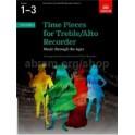 Time Pieces for Treble/Alto Recorder Volume 1