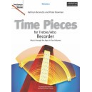 Time Pieces for Treble/Alto Recorder  Volume 2