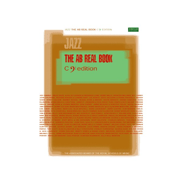 The AB Real Book C Bass-Clef Edition