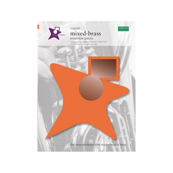 Music Medals Copper Mixed-Brass Ensemble Pieces