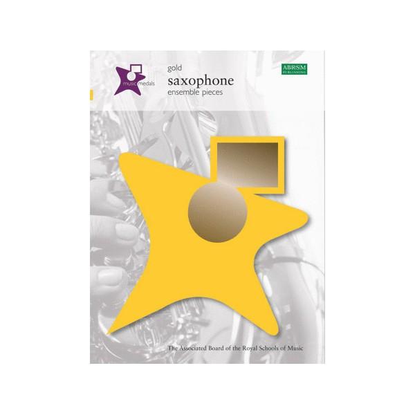 Music Medals Gold Saxophone Ensemble Pieces
