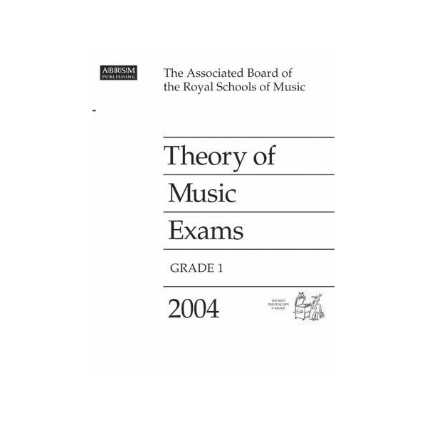 Theory of Music Exams  Grade 1  2004