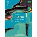 Selected Piano Exam Pieces 2007-2008  Grade 7