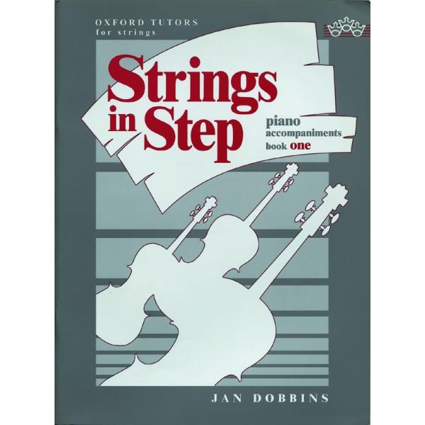 Strings in Step piano accompaniments Book 1 - Dobbins, Jan